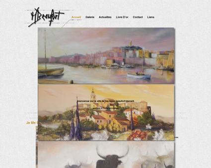 Monique Beaufort/Danielli, peintures à l'huile...
