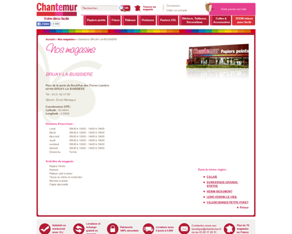 Chantemur BRUAY-LA-BUISSIERE, magasin...
