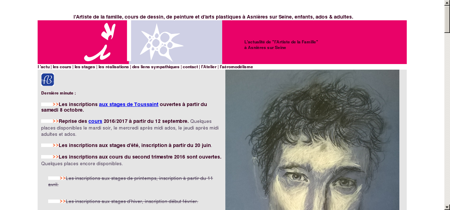 L'artiste de la Famille, Jérôme Pellet à Asnières...
