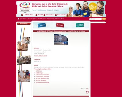 LA CAPELLE - CFA de la Chambre de Métiers et...