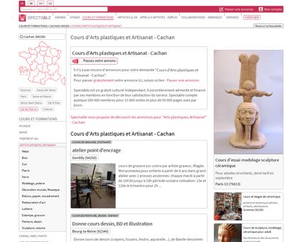 Cours d'Arts plastiques et Artisanat à Cachan...