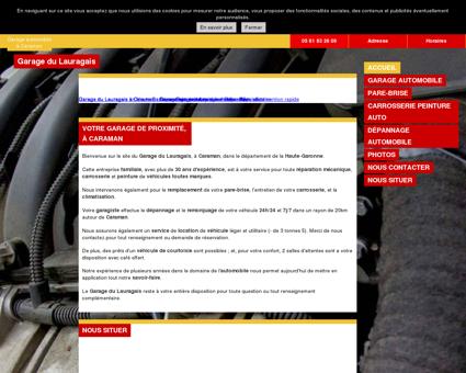 Garage du Lauragais à Caraman, réparations...