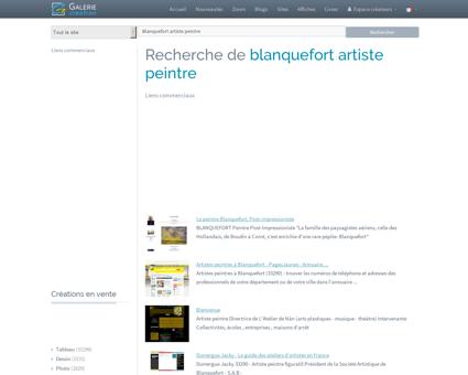 BLANQUEFORT ARTISTE PEINTRE, Galerie...