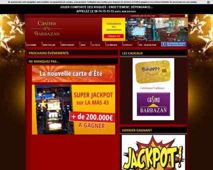 Casino de Barbazan - Poker et machines à sous...