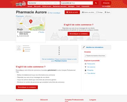 Pharmacie Aurore - Pharmacie - place...