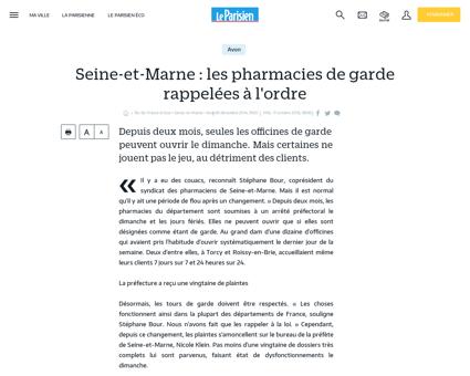 Seine-et-Marne : les pharmacies de garde...