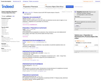 Emploi Preparateur Pharmacie - Provence...