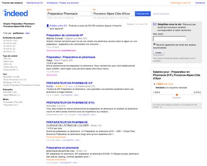 Emploi Préparateur Pharmacie - Provence...