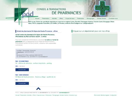 Achat de pharmacie 04 Alpes-de-Haute...