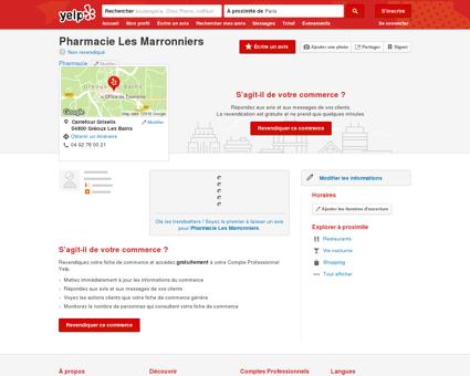Pharmacie Les Marronniers - Pharmacie -...
