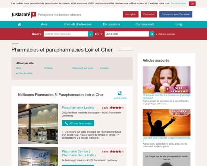 Pharmacies Loir et Cher 41 - Guide des...