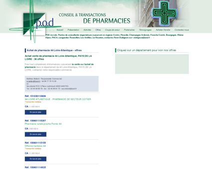 Achat de pharmacie 44 Loire-Atlantique - offres