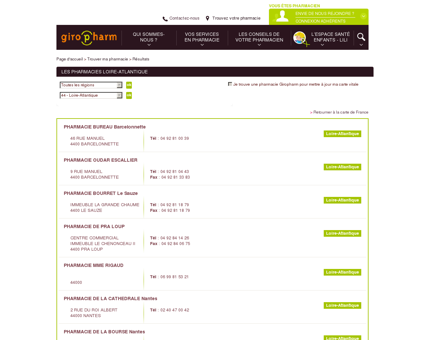 Les pharmacies Loire-Atlantique - Liste des...
