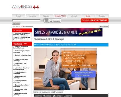 Pharmacie 44 (Loire-Atlantique)
