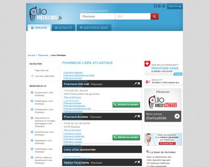 Pharmacie Loire Atlantique - Médecin -...