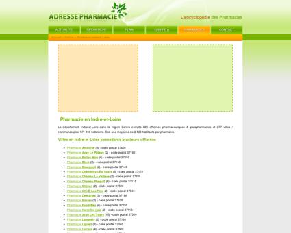 Pharmacie Indre-et-Loire dans le 37 en...