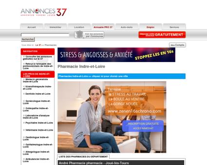 Pharmacie 37 (Indre-et-Loire)