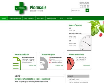 Pharmacie Ile de France à Coulommiers