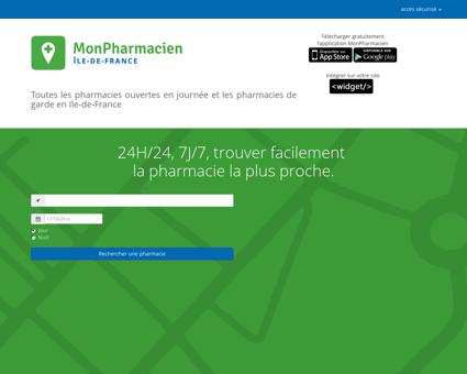 Pharmacies de garde (nuits, dimanches et jours...