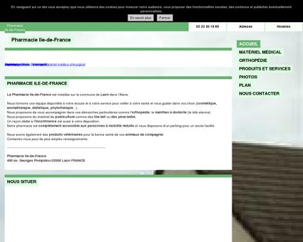 Pharmacie Ile-de-France à Laon - (02) - Aisne