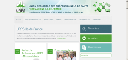 URPS - Pharmaciens île de France