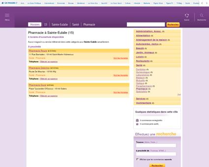 Pharmacie à Sainte-Eulalie | Les-horaires.fr
