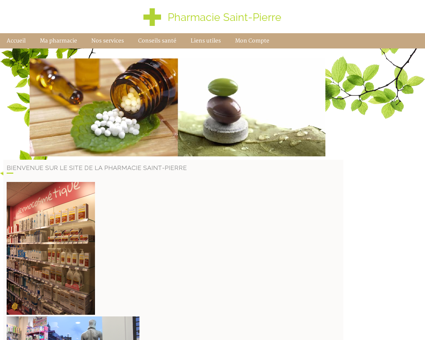 Pharmacie Saint-Pierre - Accueil