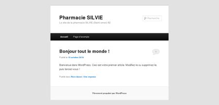 Pharmacie Silvie