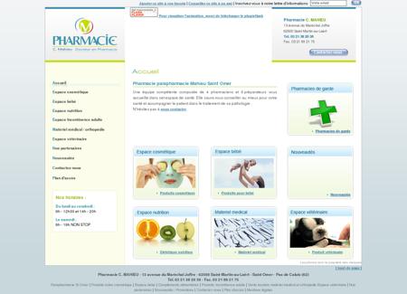 Pharmacie parapharmacie Mahieu Saint Omer