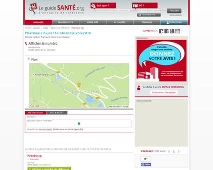 Pharmacie Pujol / Sainte-Croix-Volvestre