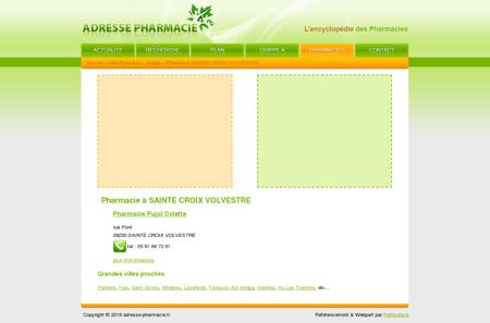 Pharmacie à SAINTE CROIX VOLVESTRE