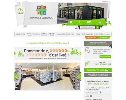 Pharmacie Belhomme - Saint-Médard-en-Jalles