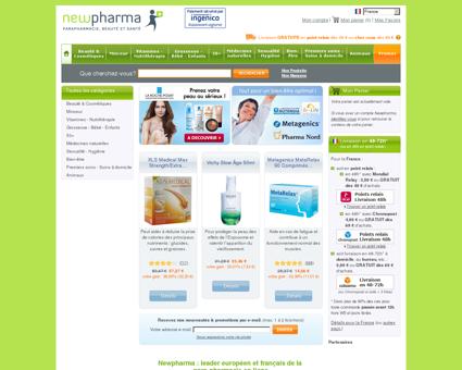 Pharmacie en ligne 24h/24   newpharma.fr