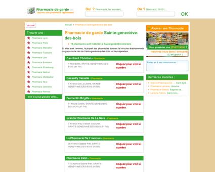 Pharmacie Sainte-geneviève-des-bois -...