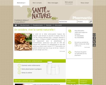 Pharmacie Birault, 33450 Saint-Sulpice-et...