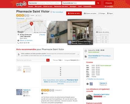 Pharmacie Saint Victor - Pharmacie - Saint...