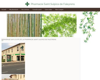Pharmacie Saint Sulpice de Faleyrens - Accueil