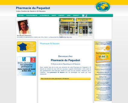 Pharmacie St Nazaire - Pharmacie du Paquebot
