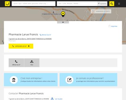 Pharmacie Larue Francis Saint Pardoux la...