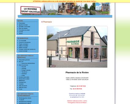 Pharmacie - Présentation | la Rivière Saint...