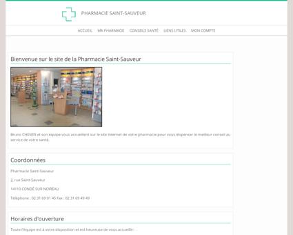 Pharmacie Saint-Sauveur - Accueil