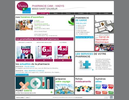 pharmacie cam - viadys - Votre pharmacie...