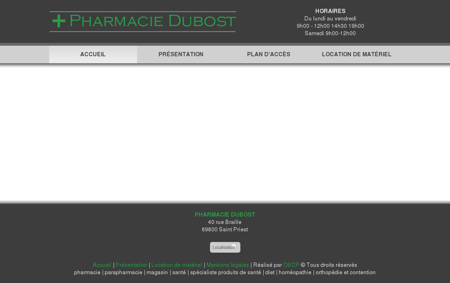 Pharmacie Dubost Saint priest 69 Rhône