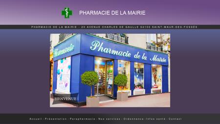 Pharmacie de la mairie, Pharmacie Saint-maur...