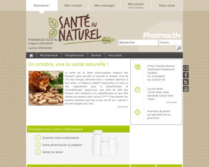 Pharmacie Ducatel-herlakian, 76430 SAINT...