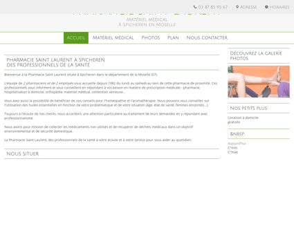 Matériel médico-chirurgical - Spicheren -...