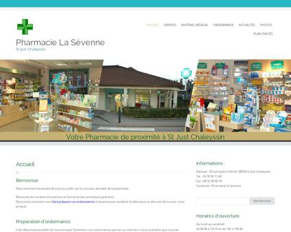 Pharmacie La Sévenne   St Just Chaleyssin,...