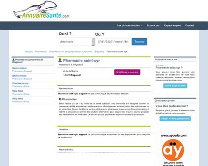 Pharmacie saint-cyr pharmacie d'officine au pl...