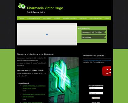 Pharmacie Victor Hugo | Saint Cyr sur Loire