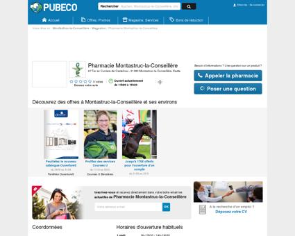 Pharmacie Montastruc-la-Conseillère - 67 Ter...